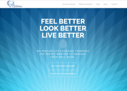 Optimamedicalwebsitescreenshot